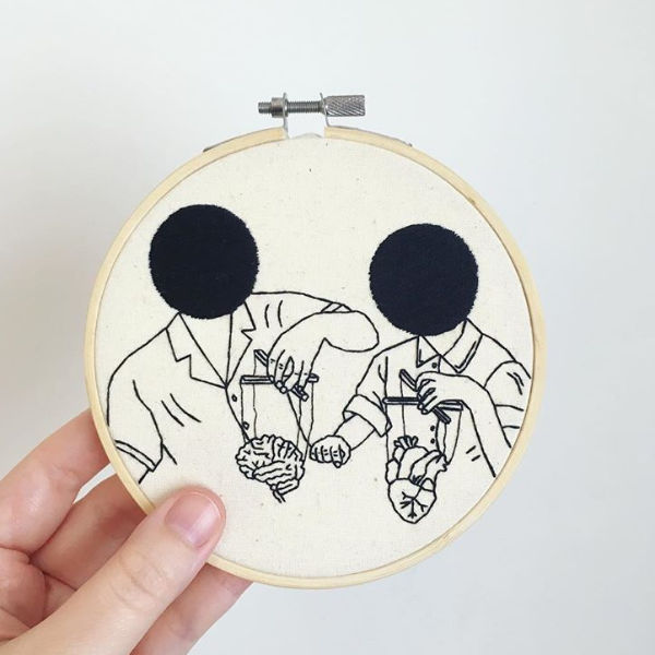 Broderie Oh My Golly Embroidery