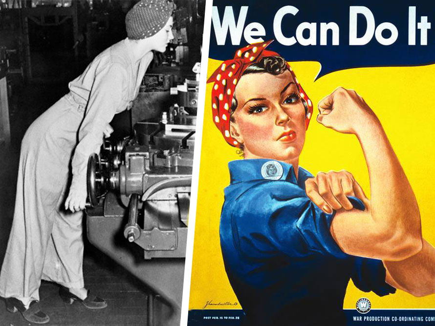 Rosie Riveter : We can do it