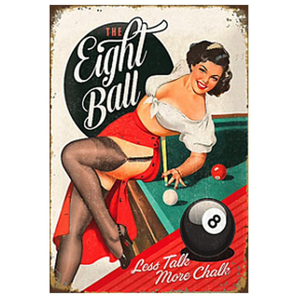 Eight Ball Pin-up